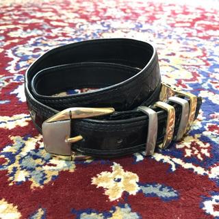 ジョンローレンスサリバン(JOHN LAWRENCE SULLIVAN)のVINTAGE metal buckle emboss belt(ベルト)