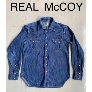 ザリアルマッコイズ(THE REAL McCOY'S)の値下げok リアルマッコイ ウエスタンシャツ 傷あり(シャツ)