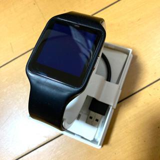 ソニー(SONY)のSONY スマートウォッチ3(腕時計(デジタル))