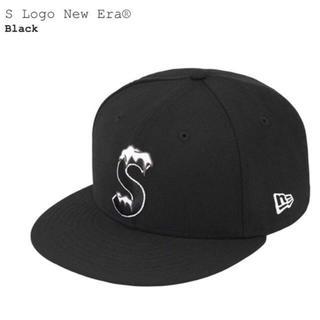シュプリーム(Supreme)のSupreme New Era S logo cap black 7 1/2(キャップ)