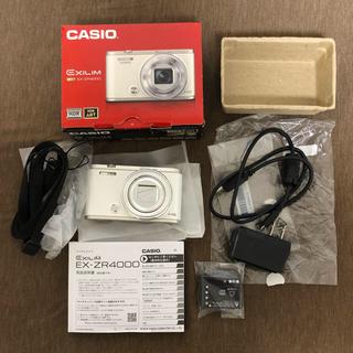カシオ(CASIO)のCASIO EX ZR4000 【中古品】(コンパクトデジタルカメラ)