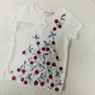 ボンポワン(Bonpoint)の新品 未使用 bonpoint ボンポワン チェリー Tシャツ 3a 3T(Tシャツ/カットソー)