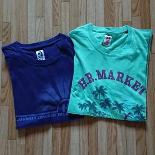 ハリウッドランチマーケット(HOLLYWOOD RANCH MARKET)のマエサキ様専用ハリウッドランチマーケット半袖Tシャツ(8月限定)(Tシャツ(半袖/袖なし))
