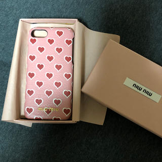 ミュウミュウ(miumiu)のミュウミュウ ☆iPhone8ケース(iPhoneケース)