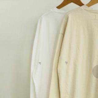 トゥデイフル(TODAYFUL)のTODAYFUL ハートロンT ♡ キナリ(Tシャツ(長袖/七分))