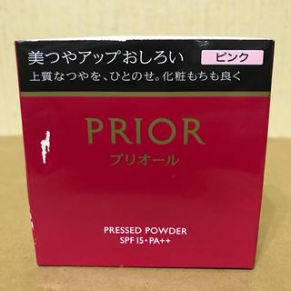 プリオール(PRIOR)のプリオール 美つやアップおしろい  ピンク(フェイスパウダー)