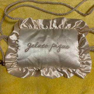 ジェラートピケ(gelato pique)のジェラートピケ サテン ピローモチーフ ショルダーバッグ(ショルダーバッグ)