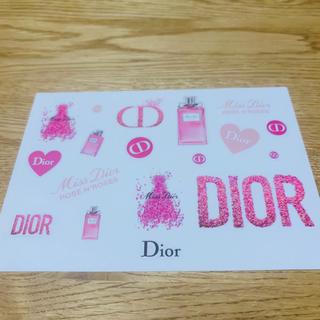 ディオール(Dior)のDior ステッカー(しおり/ステッカー)