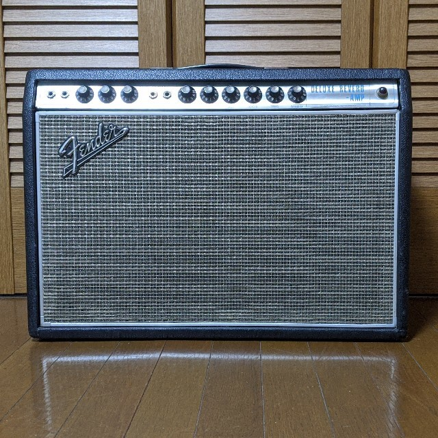 Fender(フェンダー)のVintage 1968 Fender Deluxe Reverb AB763 楽器のギター(ギターアンプ)の商品写真