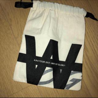 トリプルエー(AAA)のAAA 巾着 ポーチ(ポーチ)