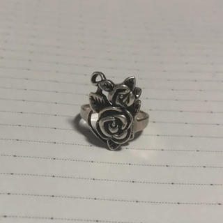 クレイジーピッグ(CRAZY PIG)のローズ リング 薔薇 シルバー925(リング(指輪))