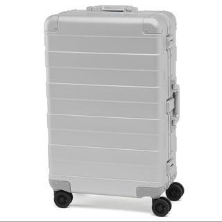 ムジルシリョウヒン(MUJI (無印良品))の【新品未使用/未開封】アルミハードキャリー(60L) スーツケース/無印良品(旅行用品)