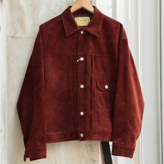 コモリ(COMOLI)のSEVEN BY SEVEN 1st TYPE LEATHER JACKET(レザージャケット)