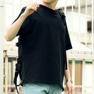 ウィゴー(WEGO)の【最終値下げ】USAコットンクルーネックポケットTシャツ(WEGO)(Tシャツ/カットソー(半袖/袖なし))