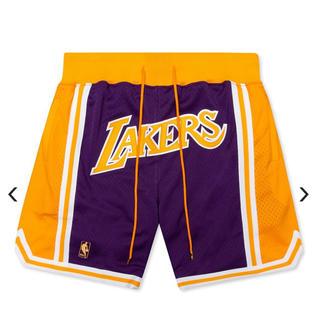ミッチェルアンドネス(MITCHELL & NESS)のJUST DON x Mitchell&Ness LAKERS Shorts(ショートパンツ)