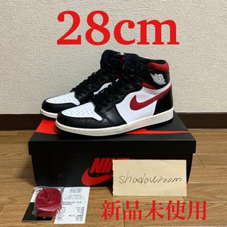 ナイキ(NIKE)のair jordan 1 gym red ジムレッド 28cm us10(スニーカー)