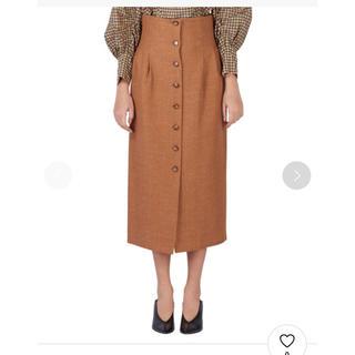 バーニーズニューヨーク(BARNEYS NEW YORK)のmuller of yoshiokubo ペンシルスカート(ロングスカート)
