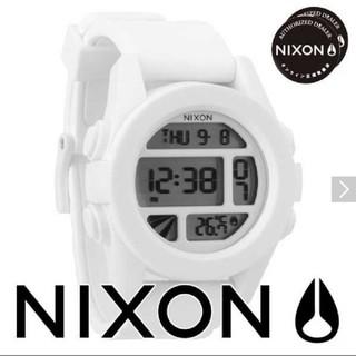 ニクソン(NIXON)の新品未使用 [ニクソン]NIXON 腕時計 Unit ホワイト 男性  完売品(腕時計(デジタル))