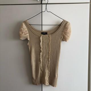 エポカ(EPOCA)のトップス epoca tシャツ   タンクトップ パフスリーブ フリル(Tシャツ(半袖/袖なし))