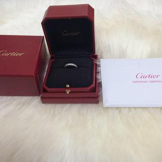 カルティエ(Cartier)のフルダイヤリング(リング(指輪))