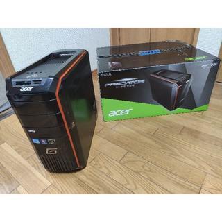 エイサー(Acer)のAcer Predator G3 パソコン + Lenovo L2261モニター(デスクトップ型PC)