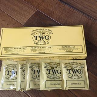 ディーンアンドデルーカ(DEAN & DELUCA)のTWG カモミール5袋(茶)
