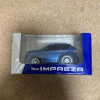 スバル(スバル)のスバルIMPREZAプルバックカー当時物非売品(ミニカー)