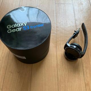 ギャラクシー(Galaxy)のgalaxy gear s3 frontier(腕時計(デジタル))