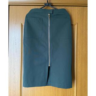 アントマリーズ(Aunt Marie's)のアントマリーズ フロントジップスカート(ひざ丈スカート)