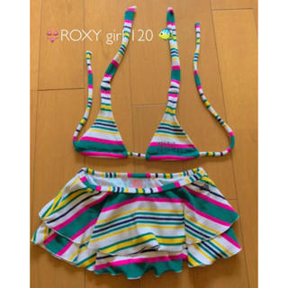 ロキシー(Roxy)のロキシー ¨̮♡︎  水着 女の子 セパレート  ROXY 120(水着)