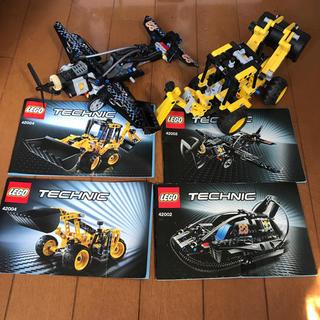 レゴ(Lego)のLEGO 42002    42004 ショベルカー 飛行機(積み木/ブロック)