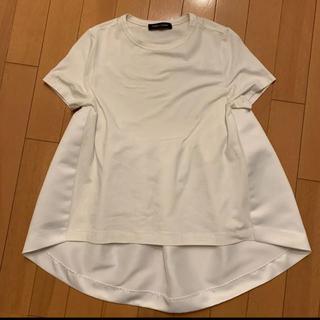 バーニーズニューヨーク(BARNEYS NEW YORK)の最終お値下げ!yoko chan ヨーコチャン バックフレアTシャツ トップス(Tシャツ(半袖/袖なし))