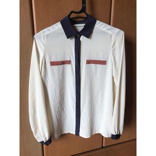 ルカ(LUCA)の値下げ‼️ ルカ 長袖シャツ 日本製 おしゃれ ジャケットの下にも❣️(シャツ/ブラウス(長袖/七分))