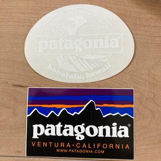 パタゴニア(patagonia)のパタゴニア ホノルル限定ステッカーと通常ステッカー(その他)