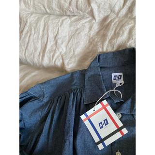 ネペンテス(NEPENTHES)の新品 AiE - Painter Shirt -Indigo(シャツ)