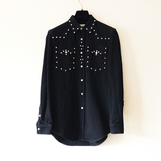 ジバンシィ(GIVENCHY)のGIVENCHY Studded Western Denim Shirt(シャツ)