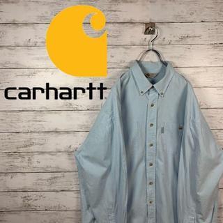 カーハート(carhartt)の【大人気90s】カーハート シャツ くすみカラー オーバーサイズ ビックサイズ(シャツ)