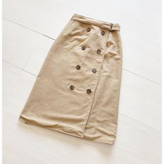 ビッキー(VICKY)のソコラ♡ラップスカート(ひざ丈スカート)