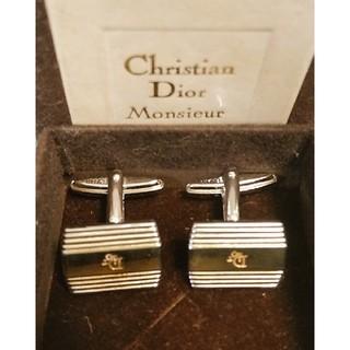 クリスチャンディオール(Christian Dior)のクリスチャンディオール カフスセット箱付(カフリンクス)