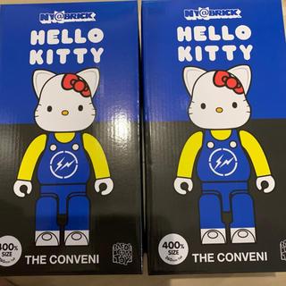 メディコムトイ(MEDICOM TOY)のNY@BRICK 400% THE CONVENI HELLO KITTY (キャラクターグッズ)