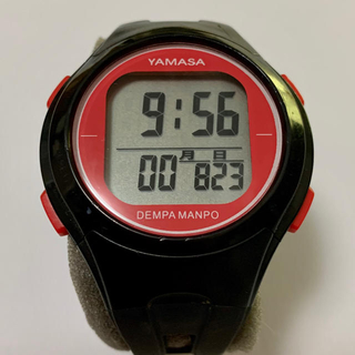 ヤマサ(YAMASA)のウォッチ万歩計(TM-500)電波時計内蔵(ウォーキング)