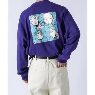 ハレ(HARE)のkutir ダークパープル(Tシャツ/カットソー(七分/長袖))