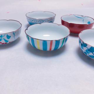 小鉢揃 5個セット 盛鉢 12㎝ 和食器(食器)