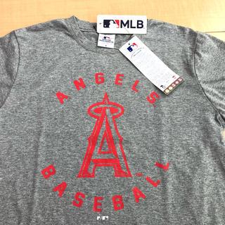 ミズノ(MIZUNO)の【新品】ANGELS BASEBALL Tシャツ MLB タグ付❗️ユニセックス(Tシャツ/カットソー(半袖/袖なし))