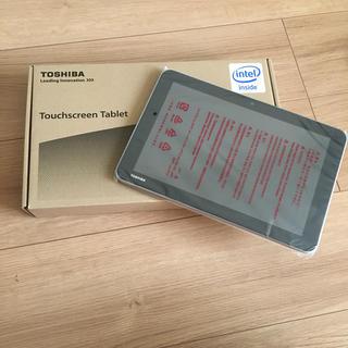 トウシバ(東芝)の【新品】TOSHIBA タブレット(タブレット)