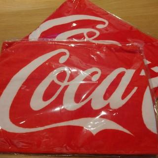 コカコーラ(コカ・コーラ)の今月限定価格!【新品未使用】コカ・コーラスポーツタオル2枚セット★(その他)