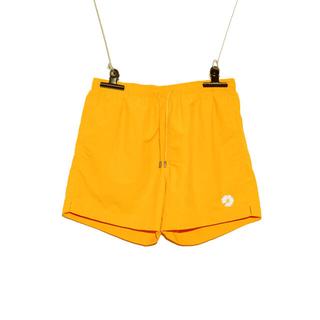 ピースマイナスワン(PEACEMINUSONE)のpeaceminusone SHORT PANTS #1 YELLOW パンツ(ショートパンツ)