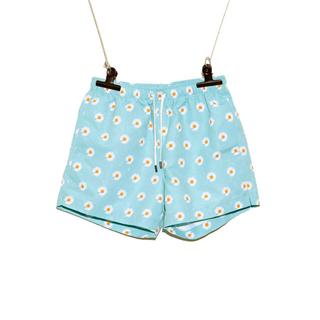 ピースマイナスワン(PEACEMINUSONE)のpeaceminusone SHORT PANTS SKY BLUE  パンツ(ショートパンツ)