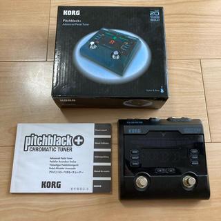 コルグ(KORG)のKORG pitchblack+  トゥルー・バイパス仕様 ペタルチューナー(その他)