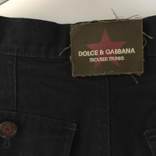 ドルチェアンドガッバーナ(DOLCE&GABBANA)のドルガバDolce&Gabbanaドルチェ&ガッバーナショートパンツM48濃紺(ショートパンツ)